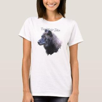 Wolf Den Grey Wolf Head Wildlife T-Shirt