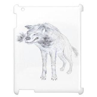 wolf design i pad case iPad cover