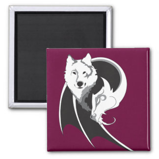 Wolf & Dragon Magnets