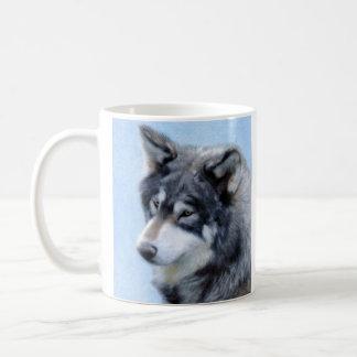 Wolf Drawing Mug