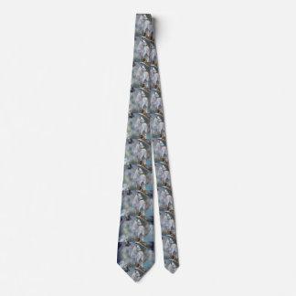 Wolf dreamcatcher - white wolf  - wolf art tie