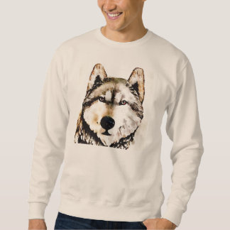 Wolf Earth Tones Sweatshirt