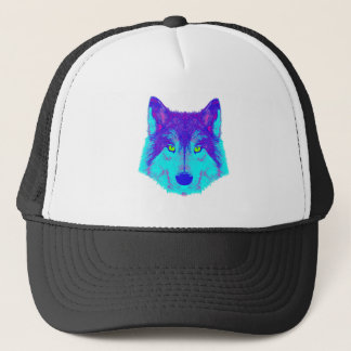 wolf edm shirt trucker hat