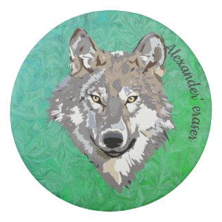 wolf - eraser
