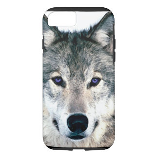 Wolf Eyes in woods wild nature animal iPhone 8/7 Case