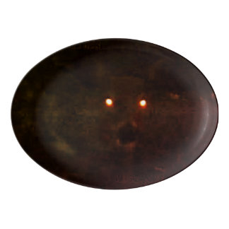 Wolf Eyes Porcelain Serving Platter