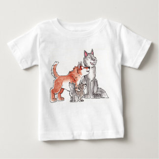Wolf Family Infant T-Shirt