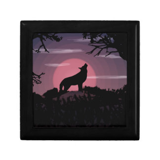 wolf full moon gift box