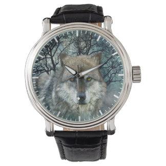 Wolf Full Moon in Fog Watch