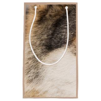Wolf fur gift bag