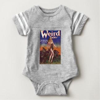Wolf Girl Baby Bodysuit