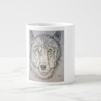 Wolf Girl J Giant Coffee Mug