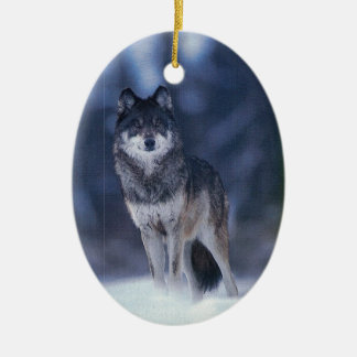 Wolf Guardian Ornament