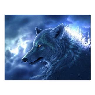 Wolf Guardian Postcard