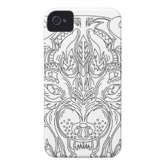wolf head Case-Mate iPhone 4 cases