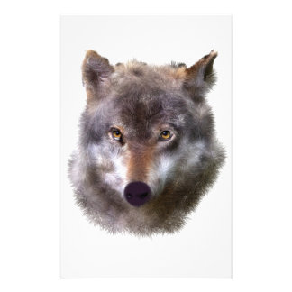 wolf-head stationery