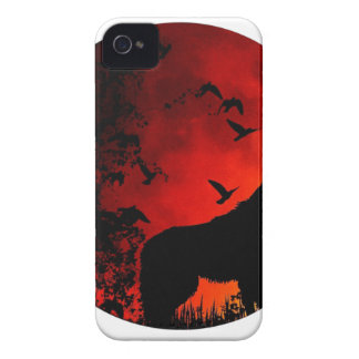wolf howl iPhone 4 cases