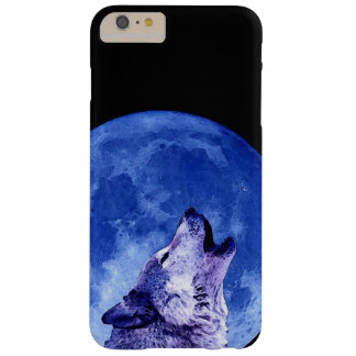 Wolf Howling at Moon iPhone 6 Plus Case