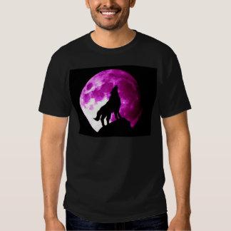 Wolf Howling at Moon Shirt