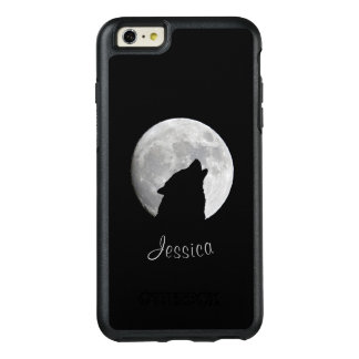 Wolf Howling at The Full Moon, Your Name OtterBox iPhone 6/6s Plus Case