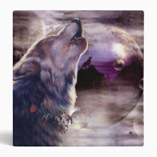 Wolf Howling at The Moon Binders