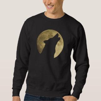 Wolf Howling Full Moon Sweatshirt