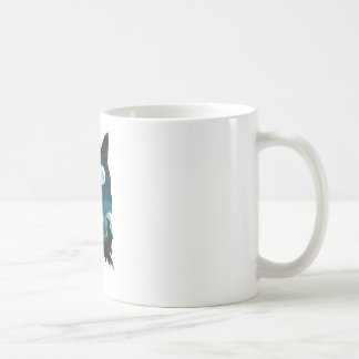 Wolf Howling with Forest Coffee Mug