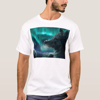 Wolf in the Night T-Shirt