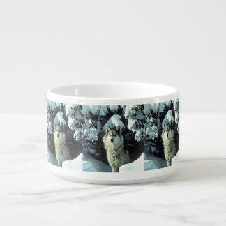 Wolf In The Snow Bowl