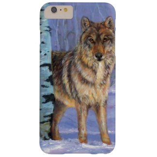 Wolf in winter barely there iPhone 6 plus case