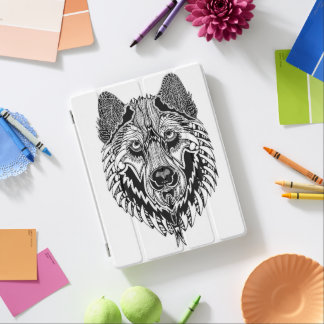 Wolf Ipad Smart Cover iPad Cover