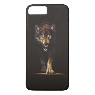 wolf iPhone 7 plus case