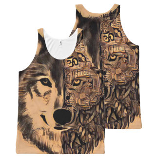 Wolf Life All-Over-Print Tank Top