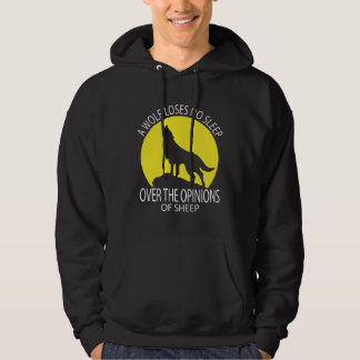 Wolf Loses No Sleep Over Opinions of Sheep Hoodie