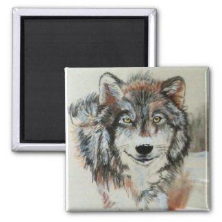 Wolf Magnet - Original Art