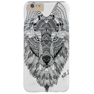 Wolf marries barely there iPhone 6 plus case