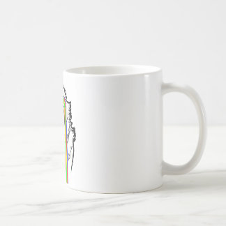 Wolf MEME Coffee Mug