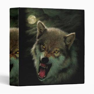 Wolf moon 3 ring binder
