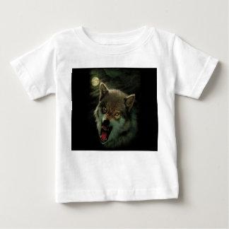 Wolf moon baby T-Shirt