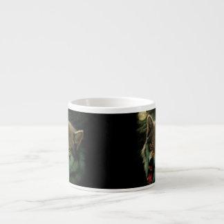 Wolf moon espresso cup