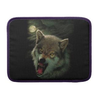 Wolf moon MacBook sleeve