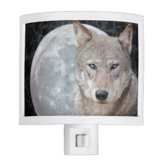 Wolf Moon Night Light