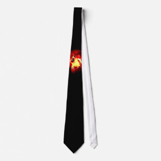 Wolf Moon Red Night Tie