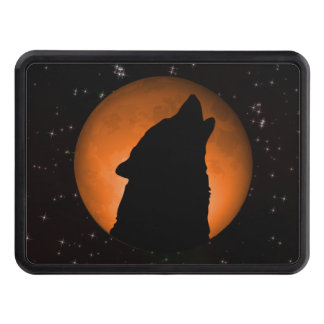 Wolf Moon Trailer Hitch Cover