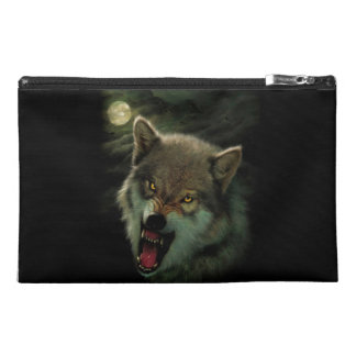 Wolf moon travel accessory bag