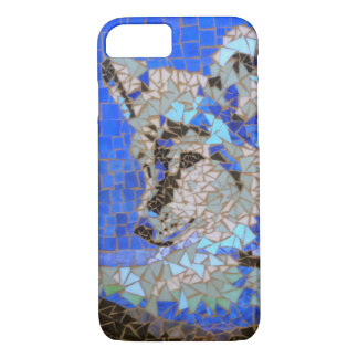Wolf Mosaic iPhone 7 Case