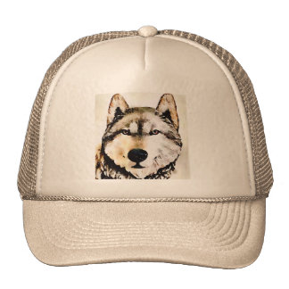 Wolf Nature Trucker Hat