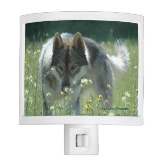 Wolf Night Light