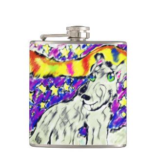 wolf Northem light Hip Flask