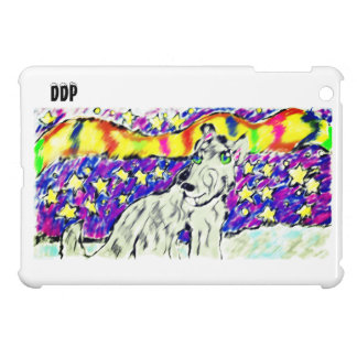 wolf Northem light iPad Mini Cover